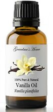 Vanilla Essential Oil - 100% Pure and Natural - Free Shipping - US Seller!