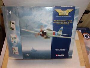 CORGI AA33101 MITSUBISHI A6M2 ZERO,JAPANESE AIRCRAFT CARRIER HIRYU PEARL HARBOUR