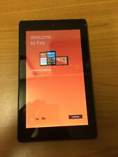 Amazon Fire HD 7 Kindle With Case And Charger