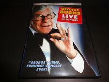GEORGE BURNS IN CONCERT-1982 concert shows the great George Burns at his best!!