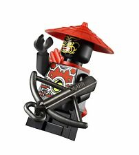LEGO Ninjago Kais Fire Mech Minifigure Minifig Bow Arrow Red Blade Kai 70500