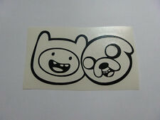 Adventure time FINN & JAKE Faces vinyl die cut decal sticker window