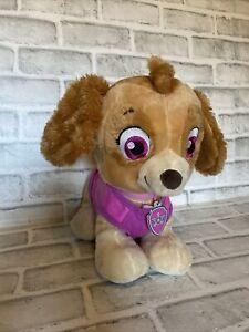 "Paw Patrol Skye Build a Bear Plush Stuffed Animal 12"" BAB Nickelodeon"