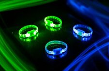 Light up Bracelets for Running (2): LED Glow Wristband Safety Light for Runners