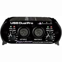 ART Pro Audio USB Preamp Portable Low Noise Recording Interface w/ Dual Mic Pres