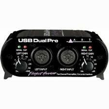 ART Pro Audio USB Preamp Portable Low Noise Recording Interface w/ Dual Mic Pres