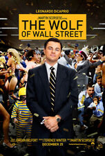 The Wolf of Wall Street Movie Fabic Silk Poster 24in*36in Wall Home Decor