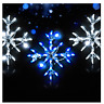 "18"" Snowflake 3 Pack Christmas Holiday Outdoor LED Lighted Decoration Wireframe"