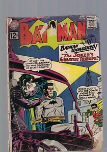 DC Comics Batman comic no 148 June  1962 12c USA the Joker