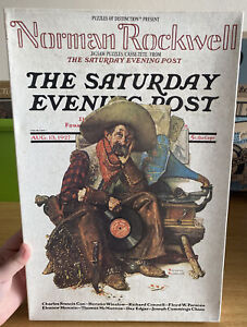 Vintage RARE Puzzles Of Distinction Norman Rockwell 520 Piece Jigsaw