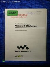 Sony Bedienungsanleitung NM E3 / E5 Network Walkman (#2532)