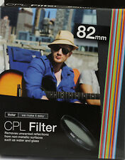 Vivitar CPL-82 82mm CPL Filter Circular Polarize for Canon 16-35mm 24-70mm 82