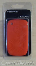 Genuine Original Blackberry 8520 Red Protective Silicone Phone Skin  - NEW