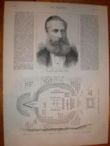 Plan print Zulu War Evelyn Wood camp Machulsimi 1879