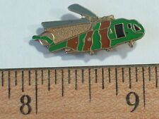 Vintage Military Helicopter Pin, Camouflage Helicopter Lapel Pin , (**)