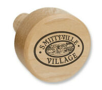 X2 Personalized MAPLE WOOD WINE BOTTLE STOPPER engraved