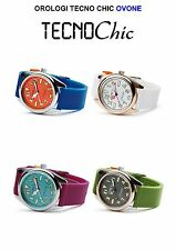 OROLOGIO TECNOCHIC  OVONE OVETTO BUBBLE STYLE WATCH CALIFORNIA DIAL VARI COLORI