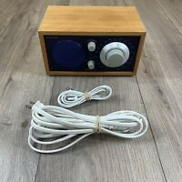 Tivoli Audio Henry Kloss Model One FM Radio In Blue & Walnut - Fully Tested