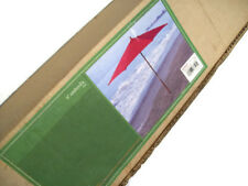 Outdoor 9 FT Red Wooden Market Umbrella New