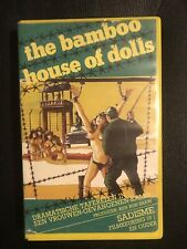 The Bamboo House Of Dolls VHS Tape English with dutch subs Horror