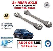 eje trasero izquierda y derecha Bajo Brazos suspensión delantera para Audi Q5