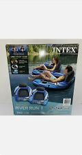 Intex River Run 1 Two Pack Lounges Connect 'N Float System NEW IN BOX