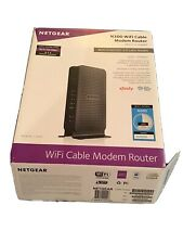 NETGEAR N300 WiFi Cable Modem Router Built-in DOCSIS 3.0 Model C3000