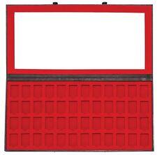 Zippo concentre estuche display vacía de cuero moca para 48 encendedores 2005415