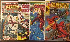 Daredevil 80 100 103 106 comic lot Spider-Man Moondragon Black Widow Mid Grade