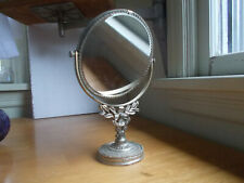 Vintage Double Sided Vanity Shaving Mirror With Powerful Magnifying Mirror Nice