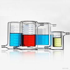 1pc 500ml Double-layer beaker photocatalytic reactor