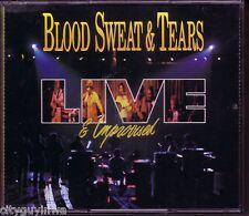 BLOOD SWEAT & TEARS Live and Improvised 1991 2 CD Set Spinning Wheel Hi-De-Ho