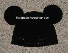 CUSTOM Boutique CROCHETED MICKEY MOUSE EARS Hat Beanie