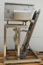 WMH PU300 FROZEN BURGER FOOD CONVEYOR STACKER PACKAGING MACHINE