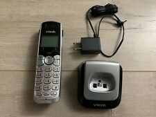 Vtech DS6101 Cordless Telephone Accessory Handset Black & Silver (no battery)