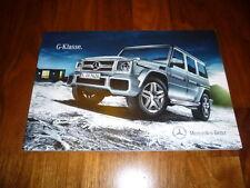 Mercedes Benz G Klasse Prospekt 05/2014