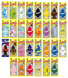 Little Trees Air Freshener Car Hanging Fragrance Home Office Fresh Scent 5-PACK