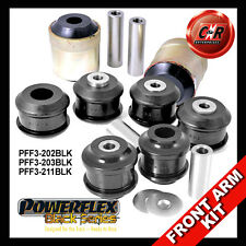 Audi S6 Quattro C5 (98-05) Powerflex Noir avant Paliers Suspension