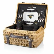 Nfl Jacksonville Jaguars Champion Picnic Basket with Deluxe Service for Two, Bla
