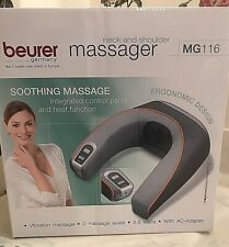 BEURER -  Massager Shoulders and Neck MG 116 Integrated Control Panel Heat NWT