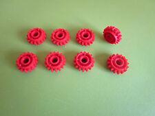 Lego Technik: 8 Zahnräder rot 18946 für z.B. 42054 42043