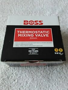 BOSS Thermostatic Mixing Valve 22mm