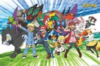 POKEMON ~ TRAVELING PARTY ~ 22x34 Poster ~ NEW/ROLLED!