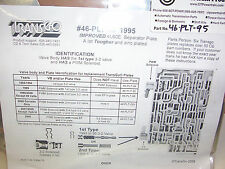 TransGo 4L60E New Valve Body Separator Plate 1995 Only Heavy Duty HD 46-PLT-95