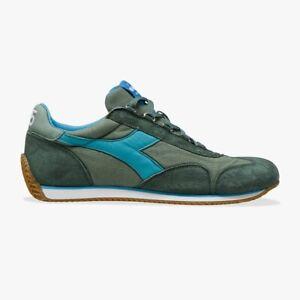 Diadora Heritage EQUIPE H Canvas Sw Shoes Green Duck Original Collection 2021