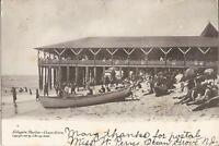 Ocean Grove, NEW JERSEY - Lillagore Pavilion - 1905 - lifesaving baby