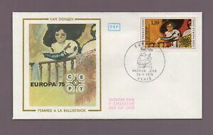 FDC 1975 - VAN DONGEN - Femmes à la balustre   (2193)