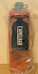 Camelback Peak Fitness Water Bottle Orange 17oz NEW Camelbak Free Shipping