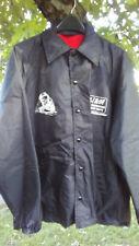 Vintage 1970's SCL / L&N Blue Graphic print Sz XL Uniform Railroad Lined Jacket
