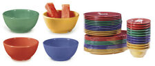 "G.E.T. B-525-* 2 Dozen - 16 oz 5.25"" Melamine Bowl Available in 13 Colors"